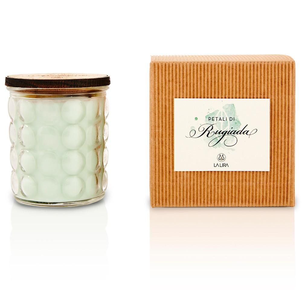 candela profumata bio naturale menta lime