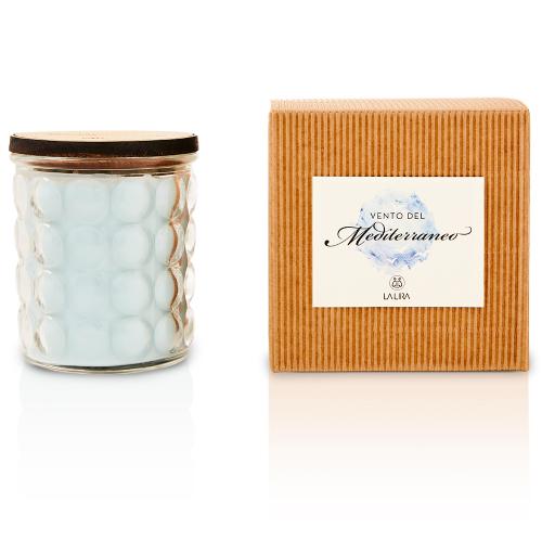 candela profumata bio naturale zagara rosmarino