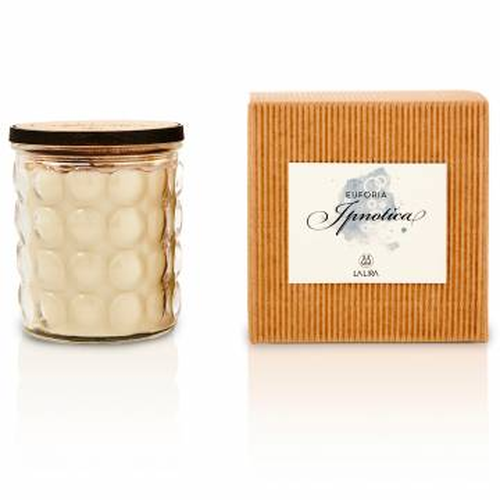 candela profumata bio naturale vaniglia mandarino